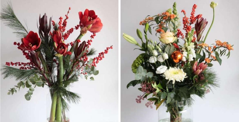 Pluk 'n Bloom - Winterboeket met Amaryllis